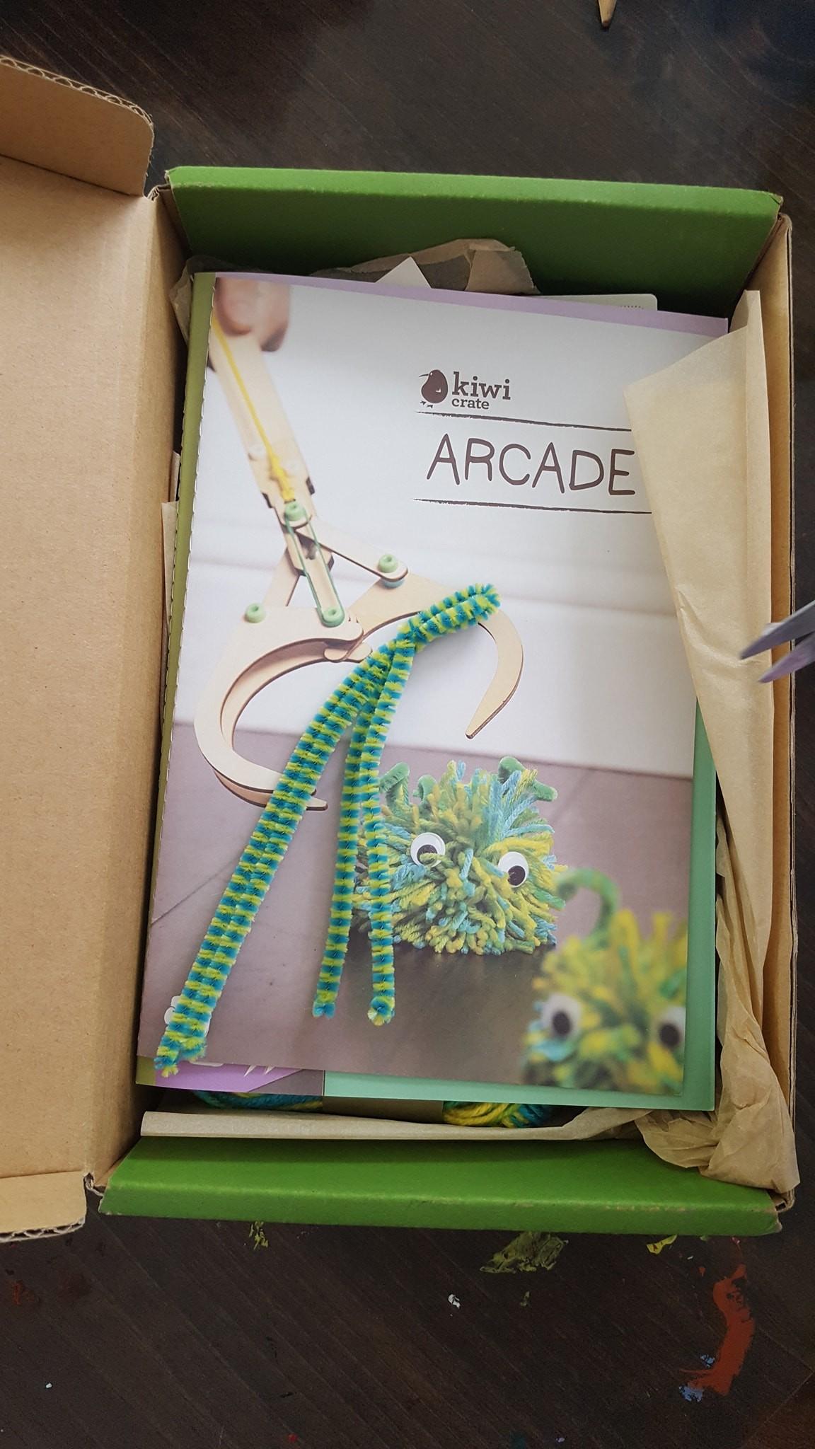 KiwiCo | Hands-on science and art projects |Kiwi Arcade